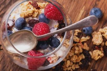 Gezond ontbijten met kwark